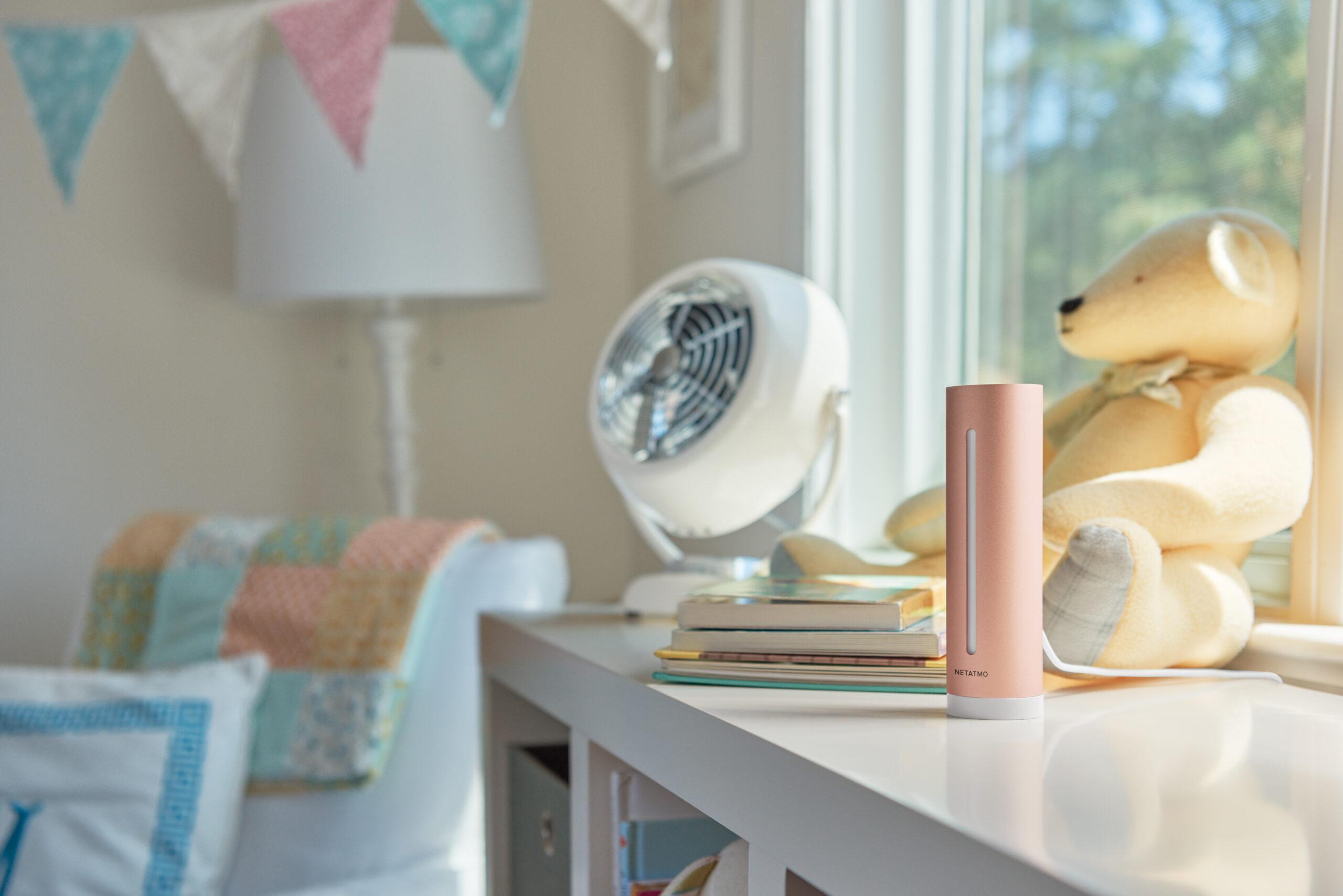 Smart sensor AirTeq babykamer