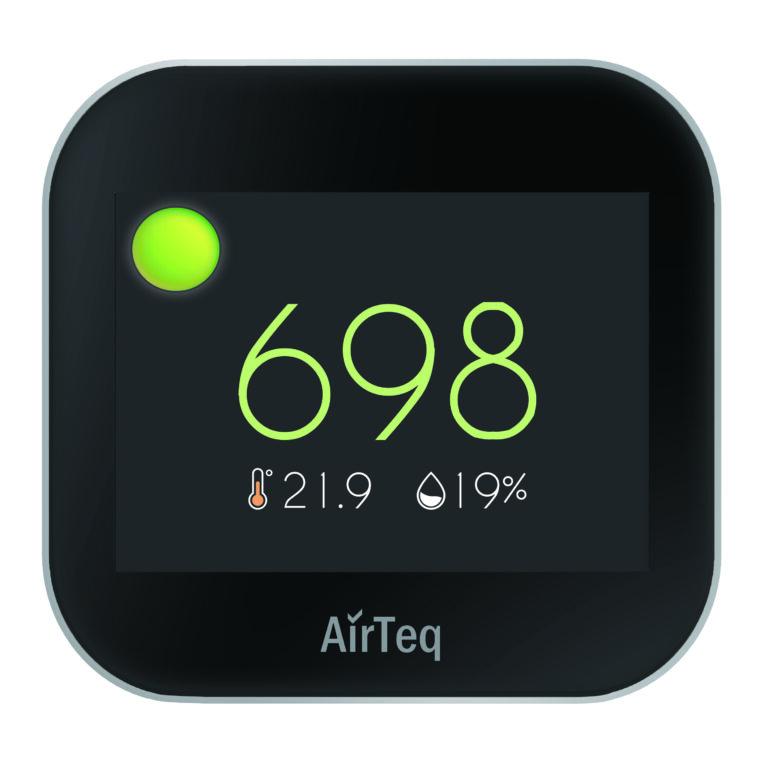 Touch sensor stoplicht indicatie groen